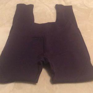 Alphalete R6 Revival Leggings Purple Noir XL